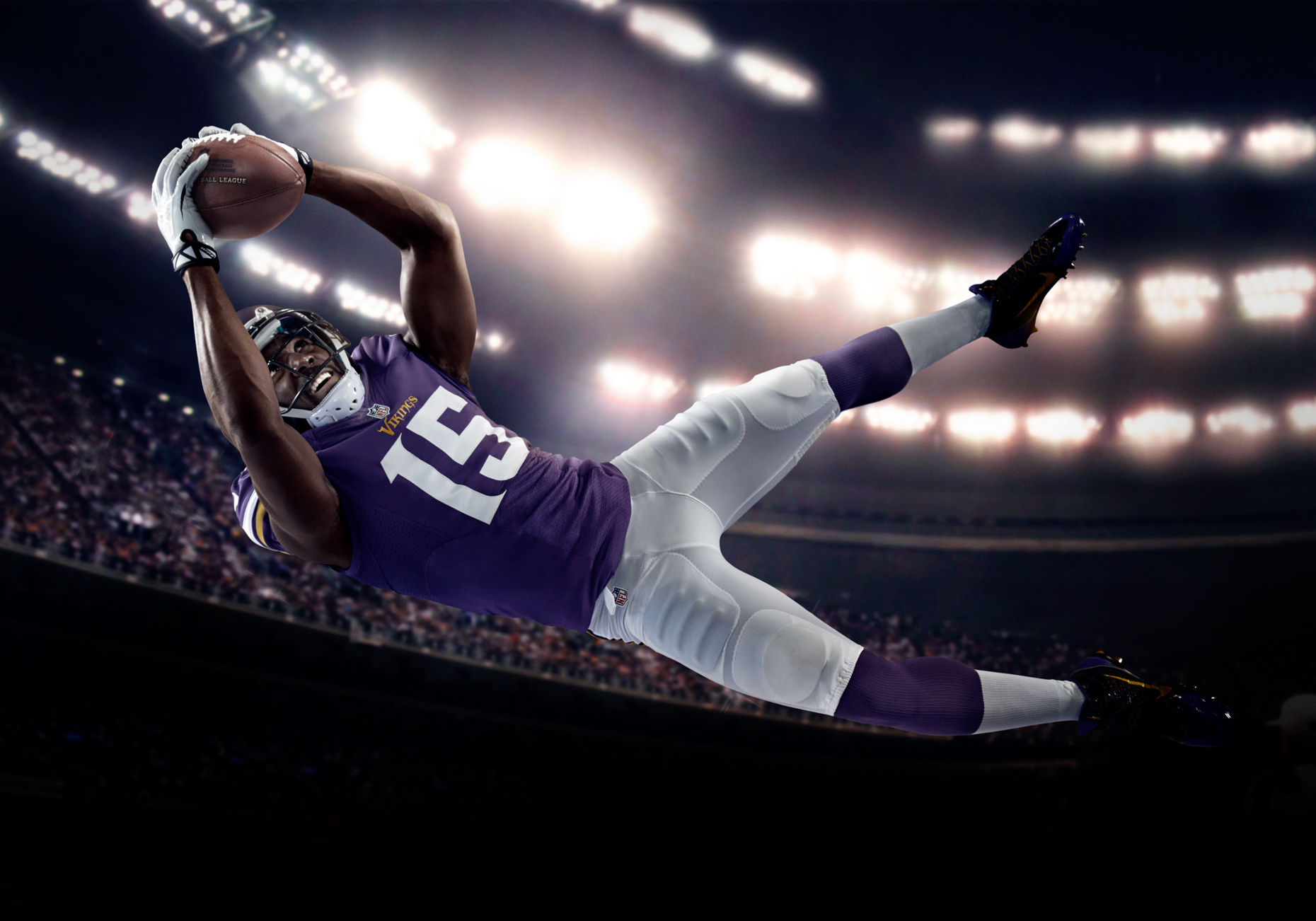 Wide receiver Greg Jennings for the Minnesota Vikings NFL