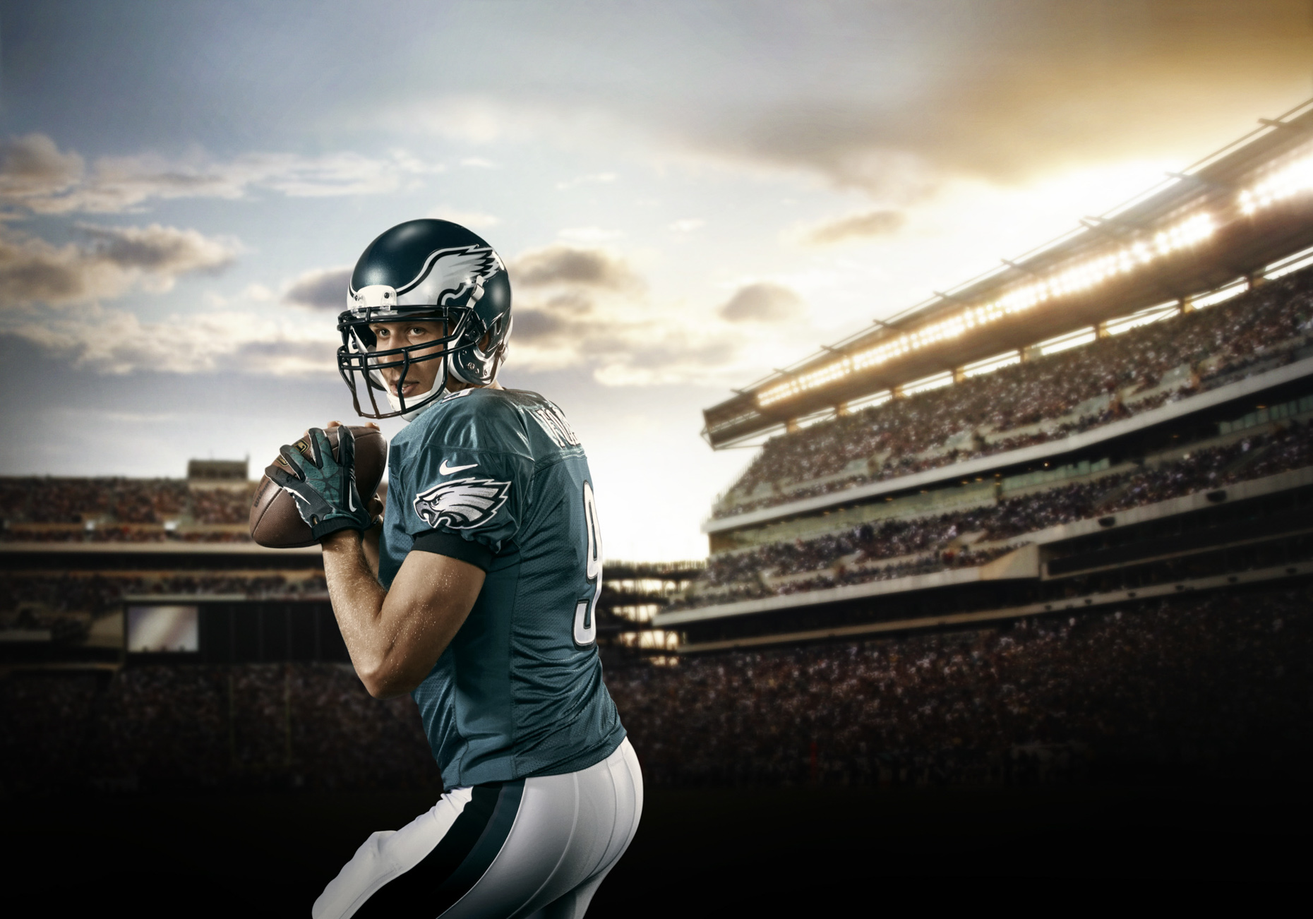 Nick Foles is an American football quarterback for the Philadelphia Eagles of the National Football League.