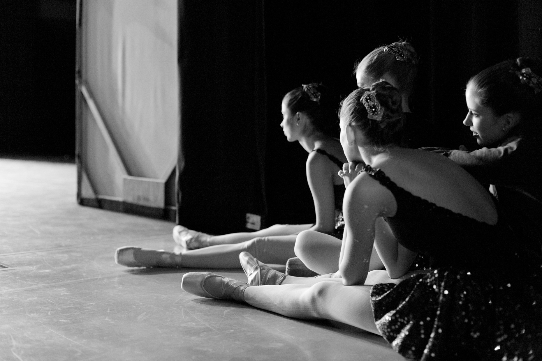 Backstage with Oregon Ballet Theatre dancers