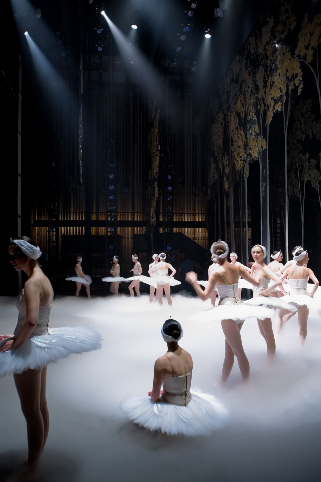 Swan Lake, backstage with Oregon Ballet Theatre