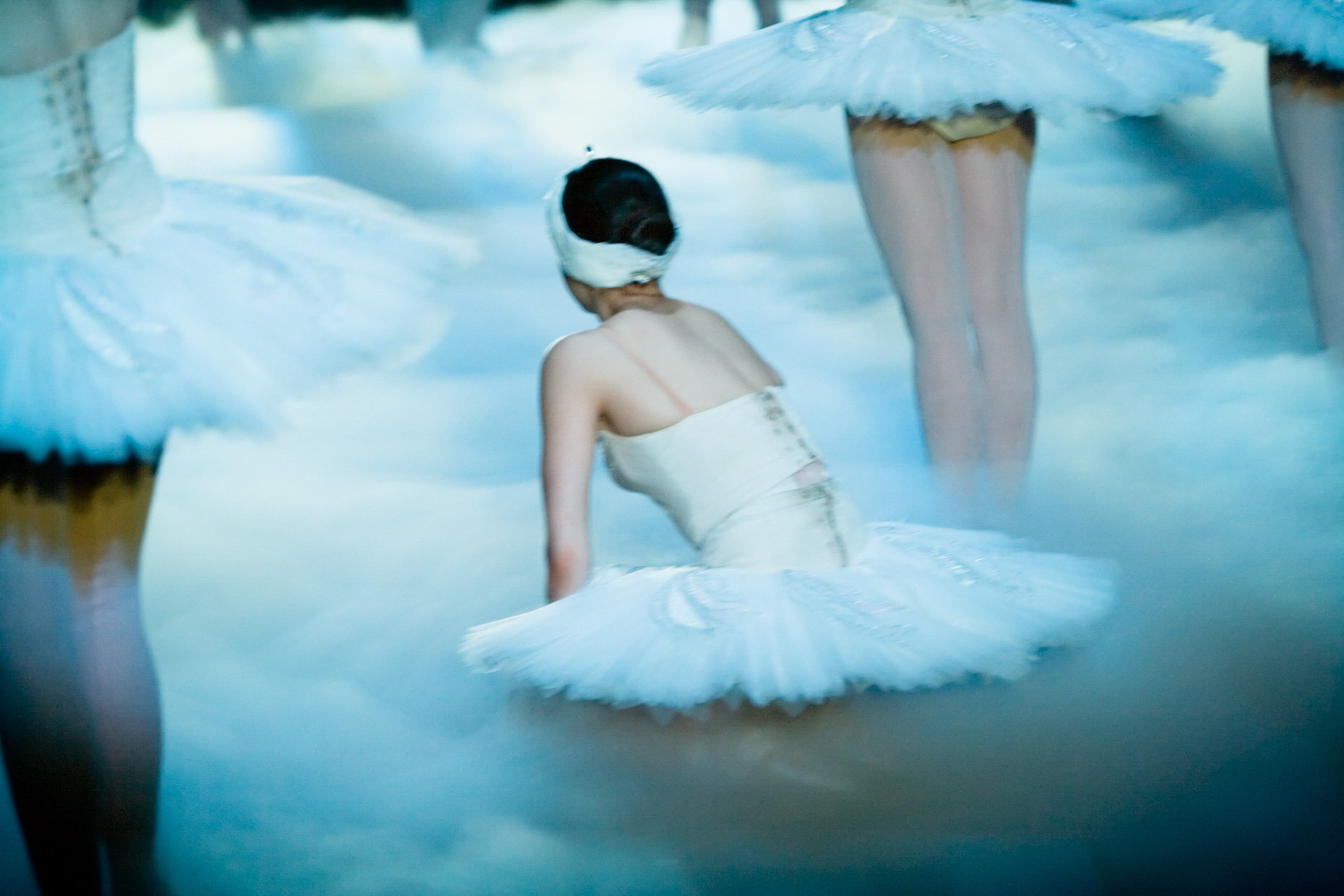 Swan Lake, backstage with Oregon Ballet Theatre dancers