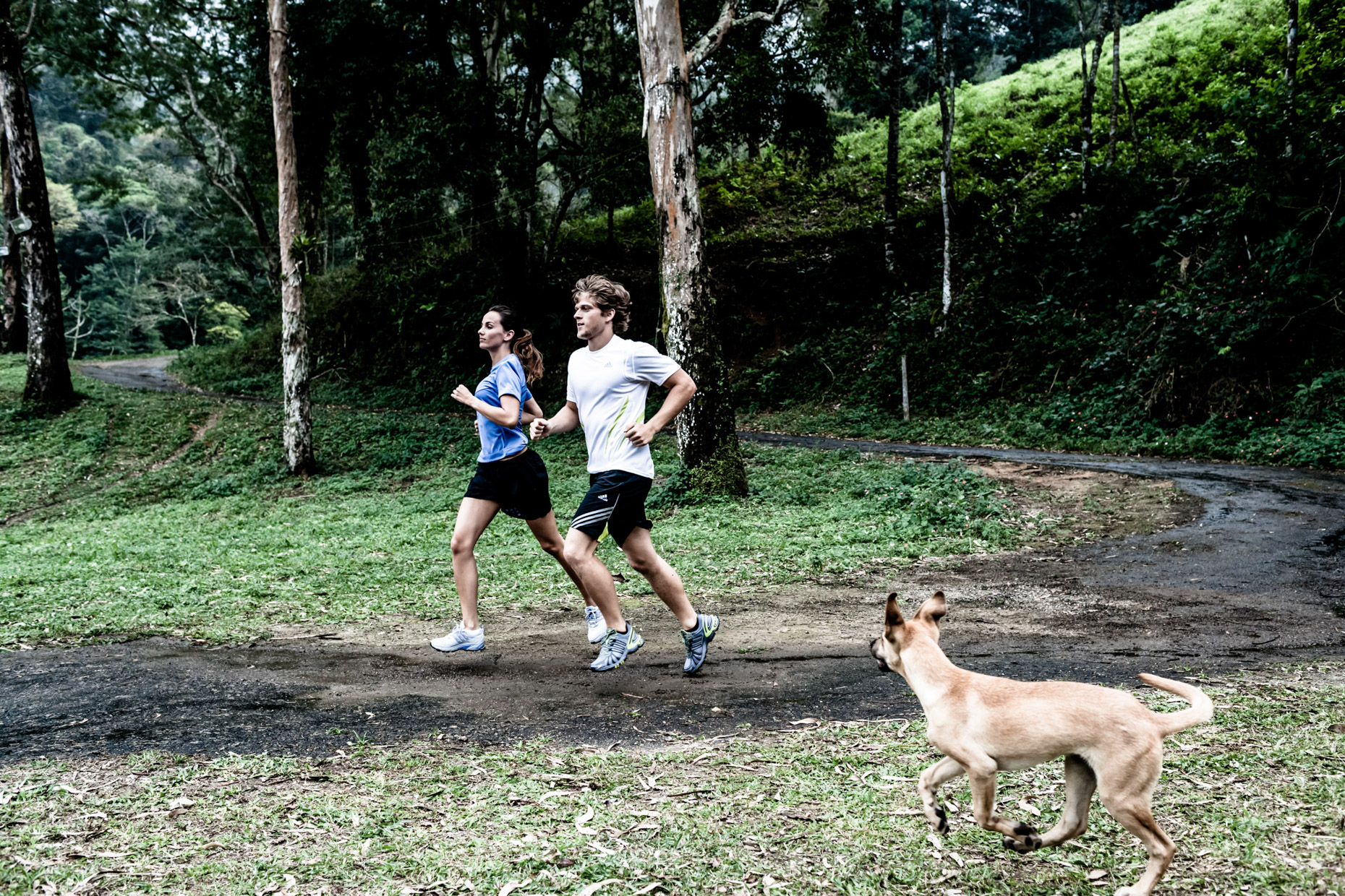 running and training in Rio De Janeiro for adidas by fitness photographer Andy Batt