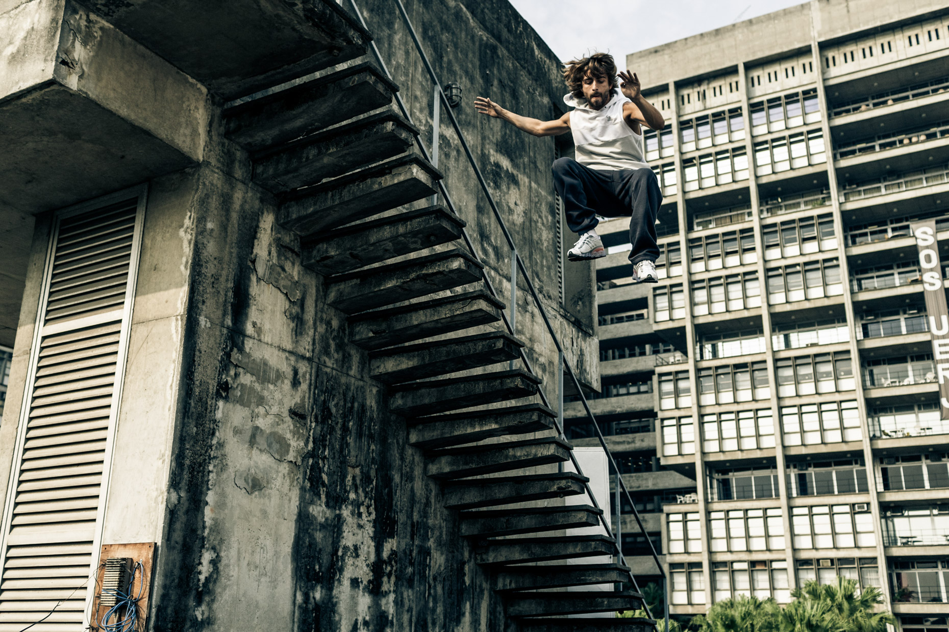 professional freeruner Jeronimo Bittencourt for adidas