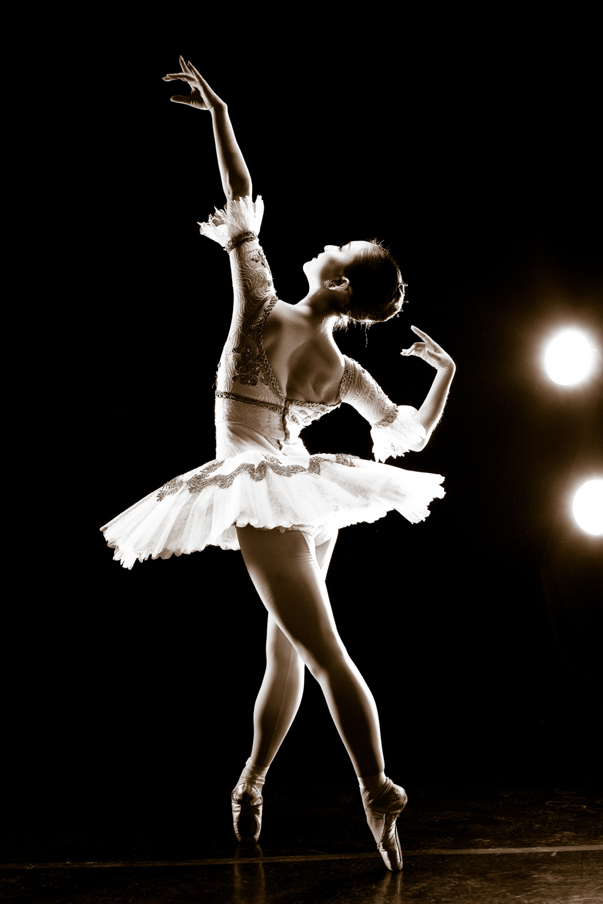 Prima Ballerina Yuka Iino for Oregon Ballet Theatre