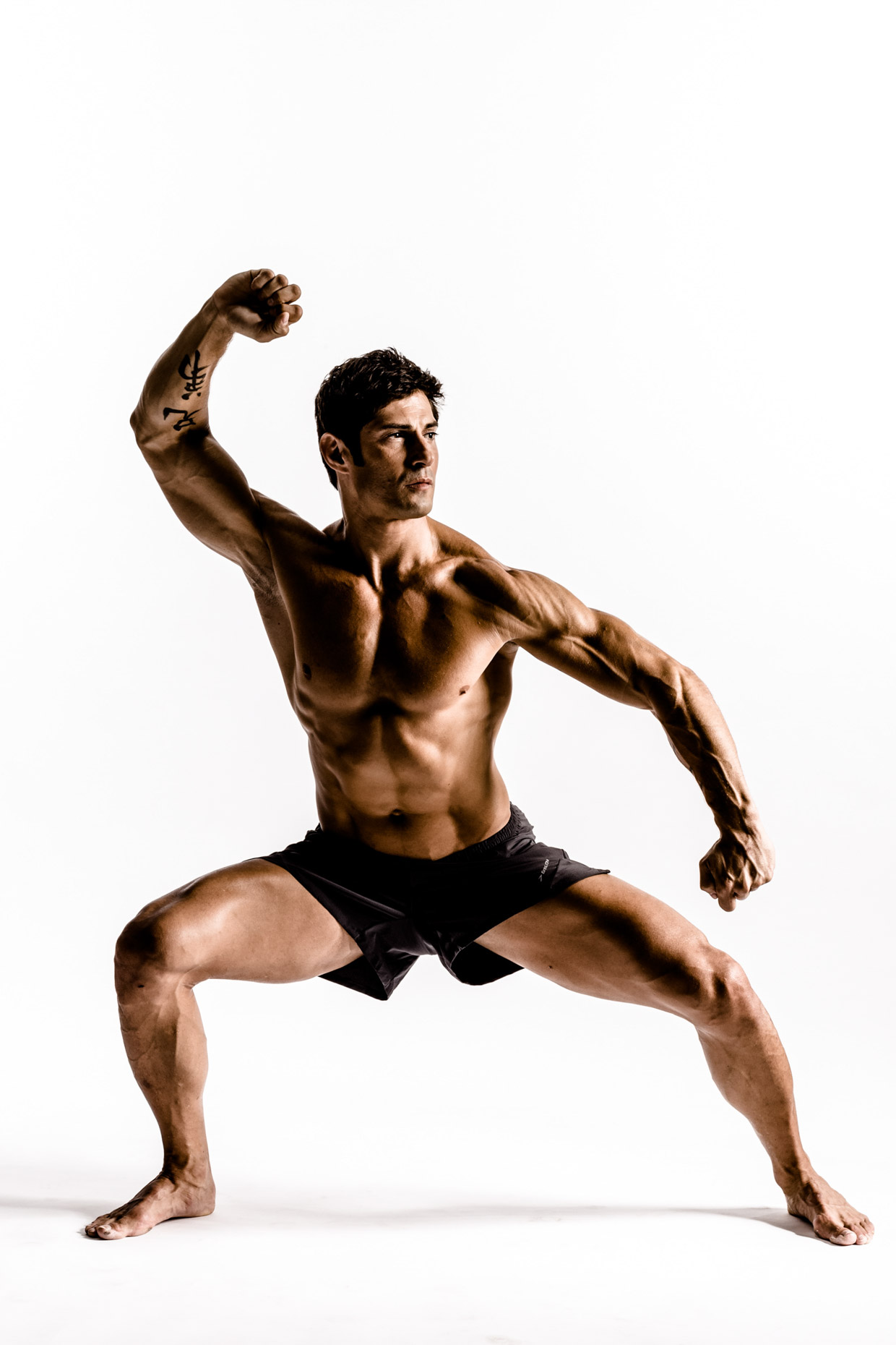 tranier Rudy Reyes by dramatic fitness photographer Andy Batt