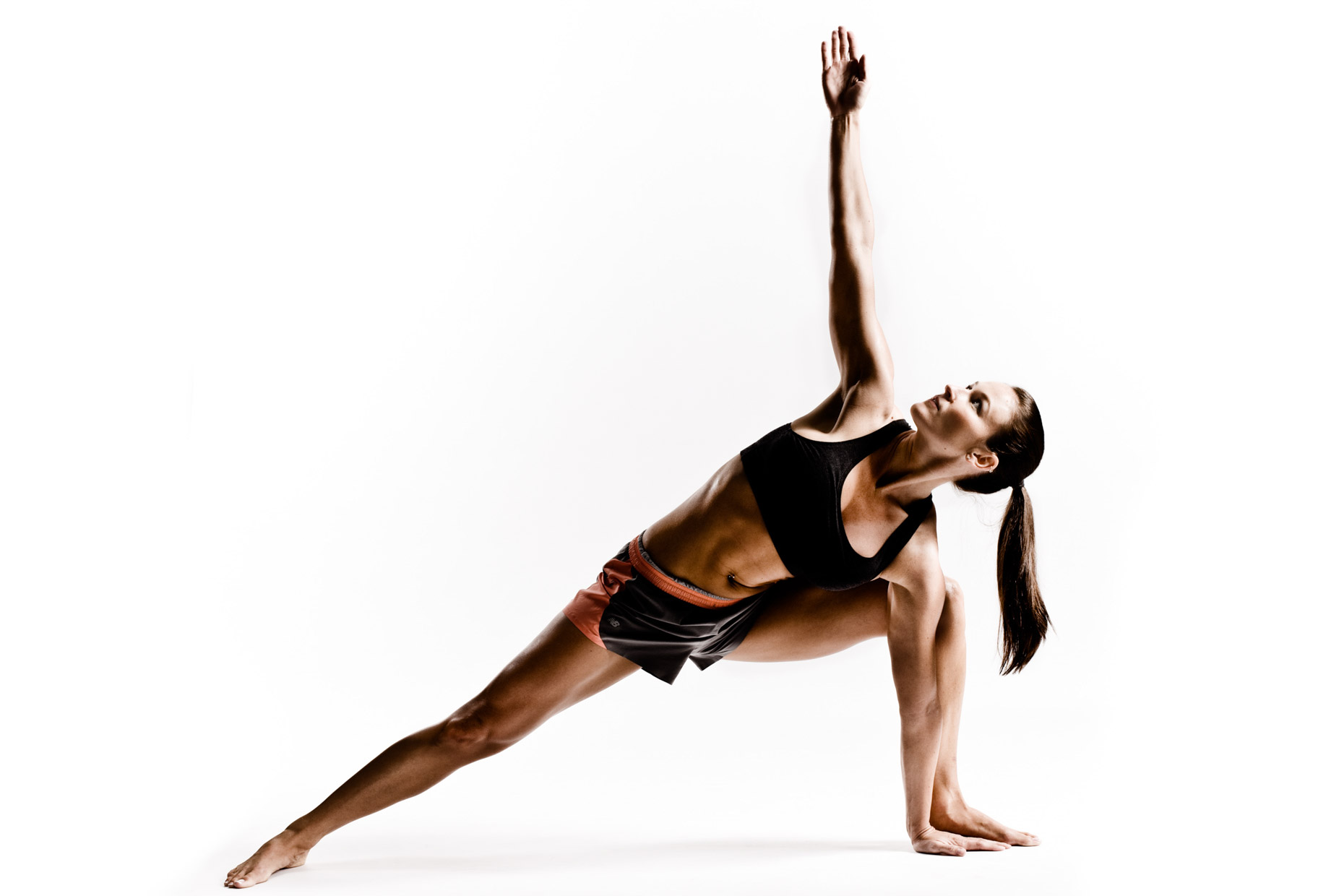 Yoga poses in Studio by fitness and yoga photographer Andy Batt