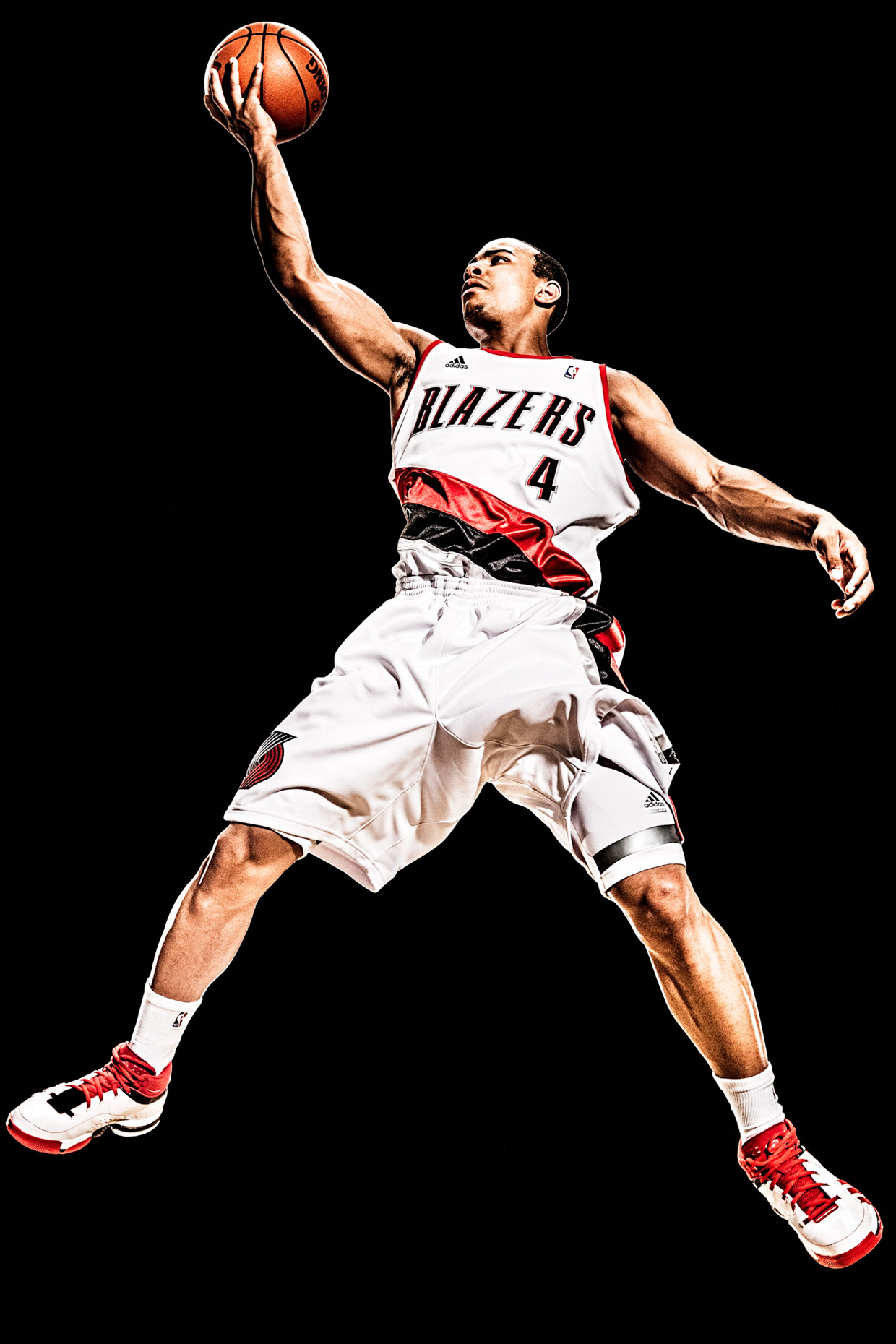 Jerryd Bayless of the Portland Trailblazers NBA