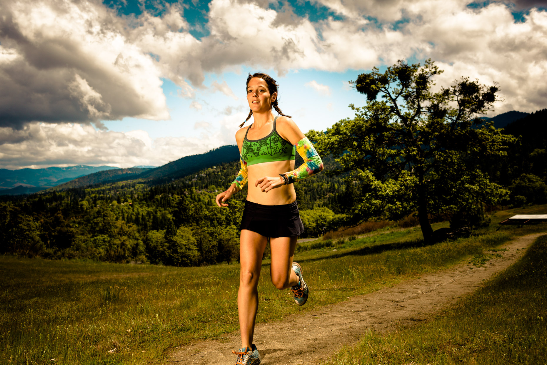 Ultramarathon runner Jenn Shelton for Outside Magazine