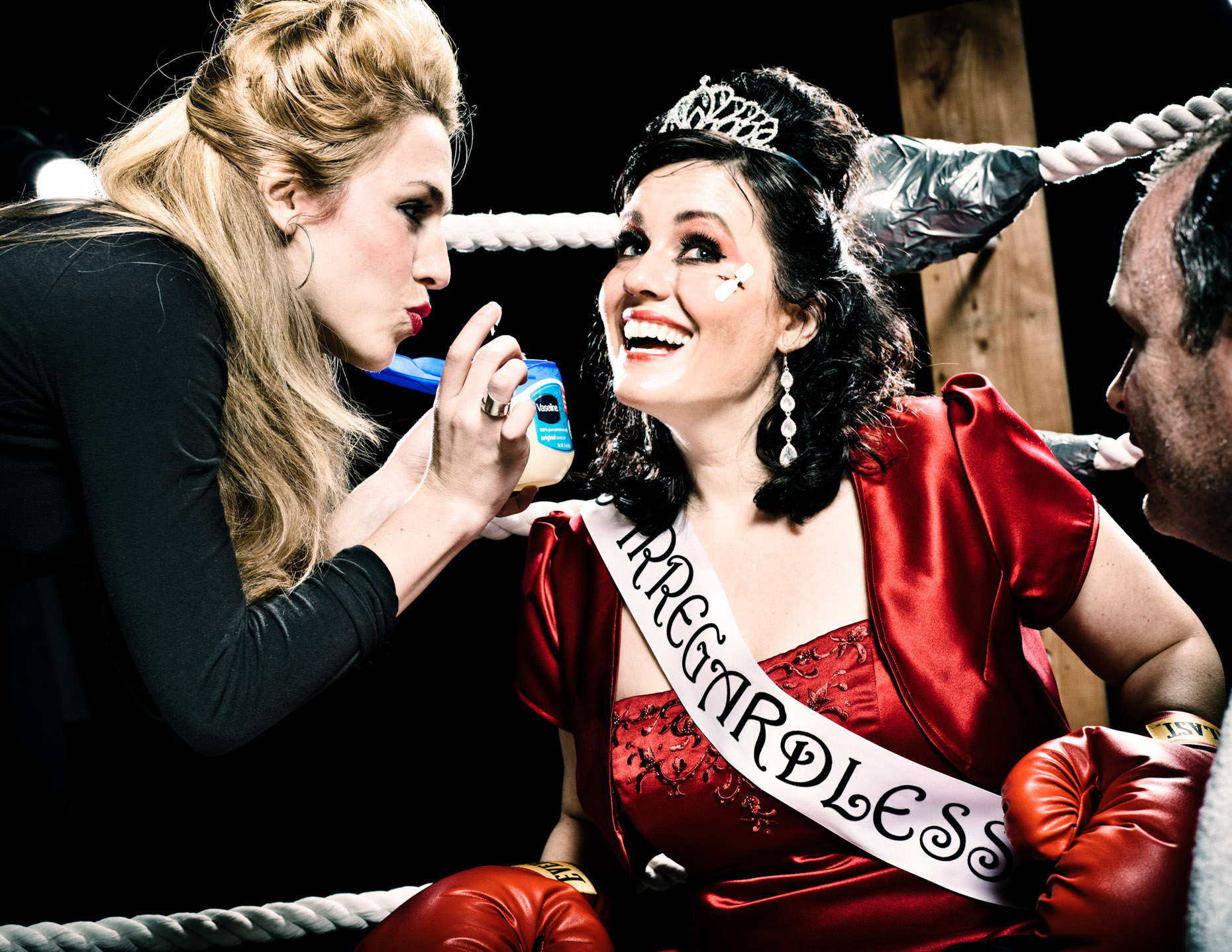 Improvisor Stacey Hallal is Miss Irregardless