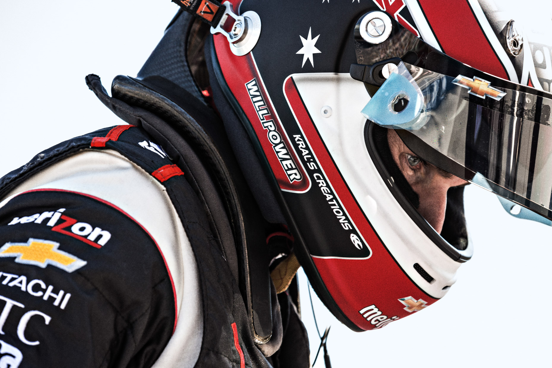 Indycar racer Will Power