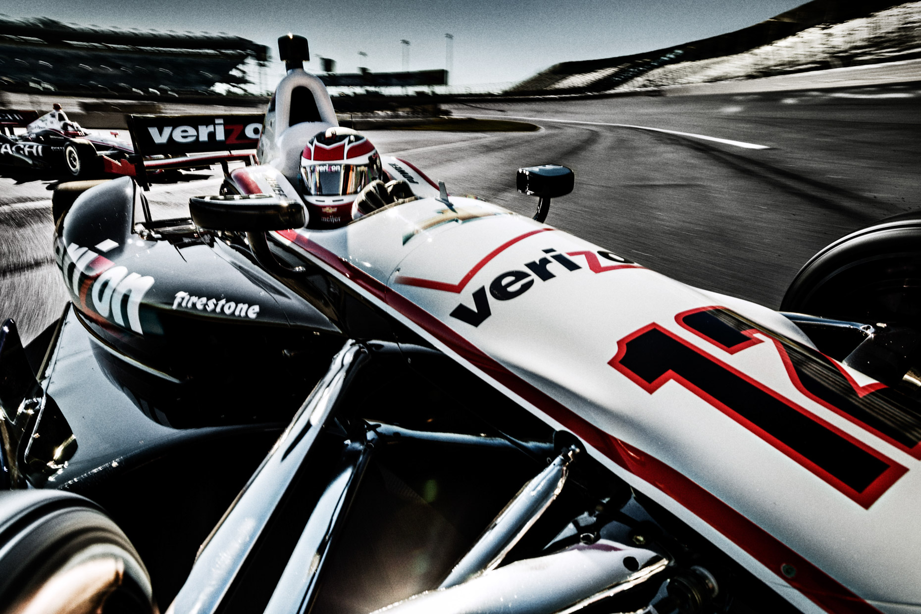 Indycar racecar driver Will Power