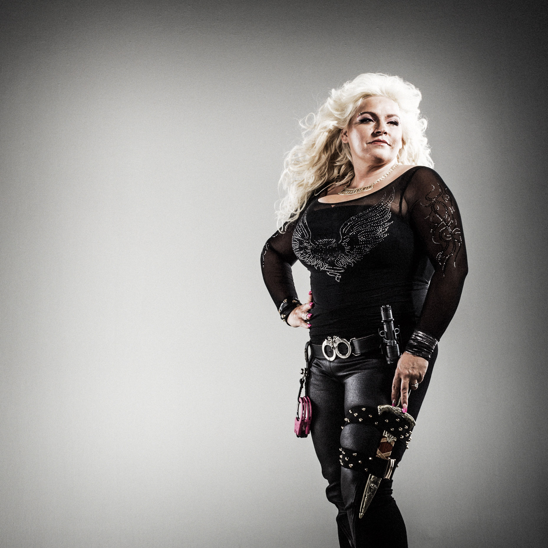 reality tv star Beth Chapman for Dog and Beth: On the Hunt on CMT network