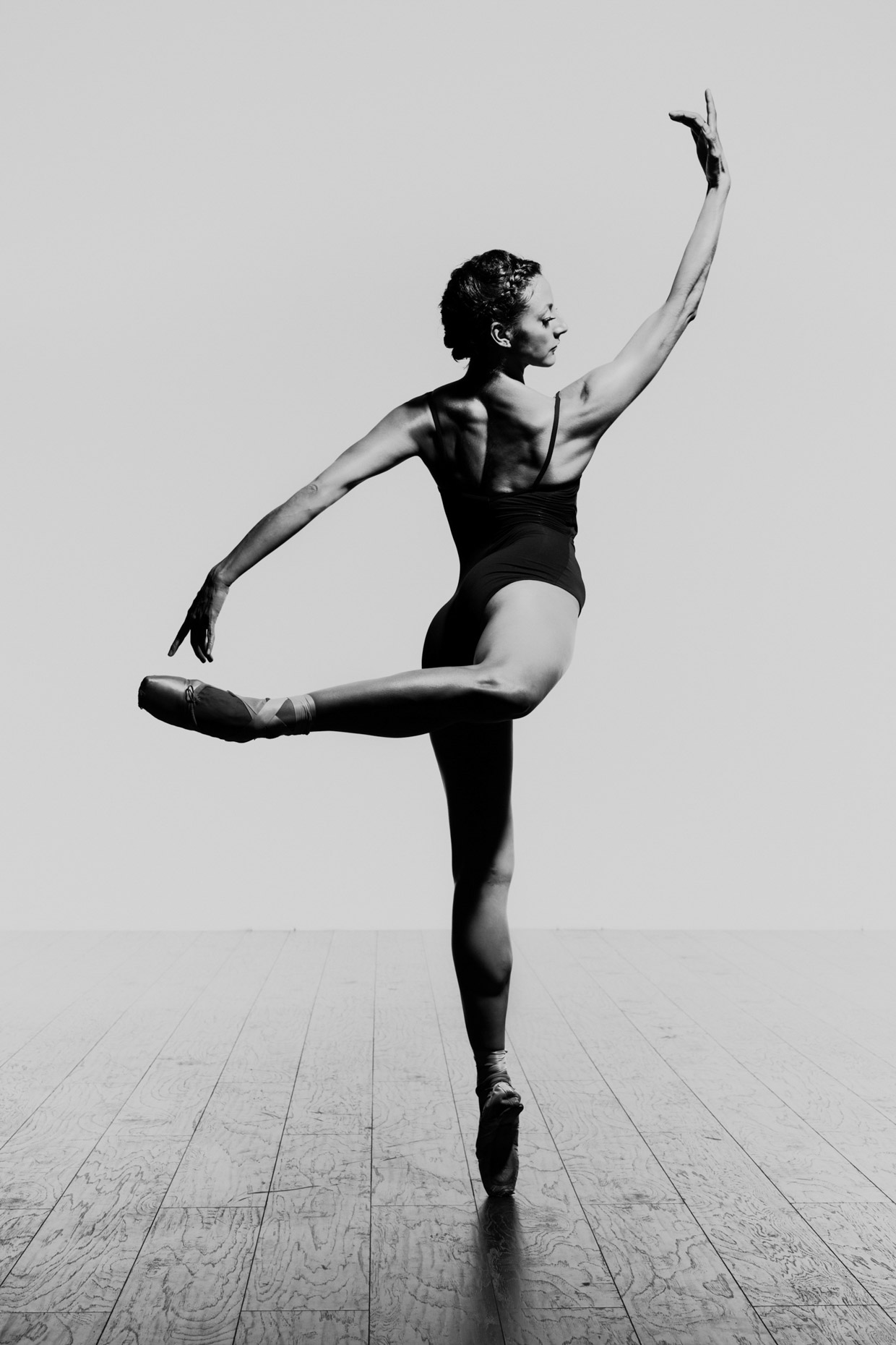 Prima ballerina Martina Chavez for Oregon Ballet Theatre