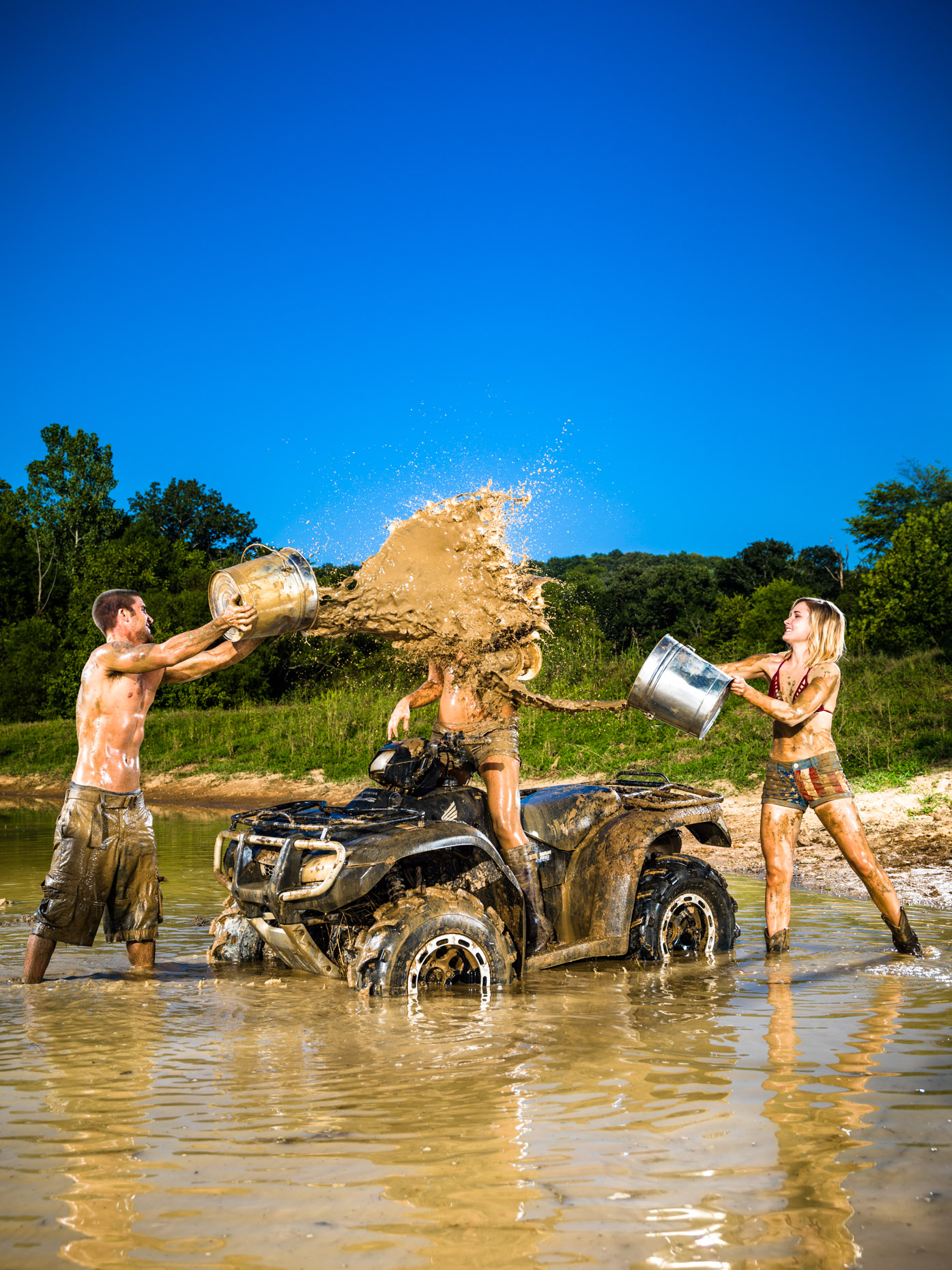 Party Down South 2 gets muddy outside of  Nashville.