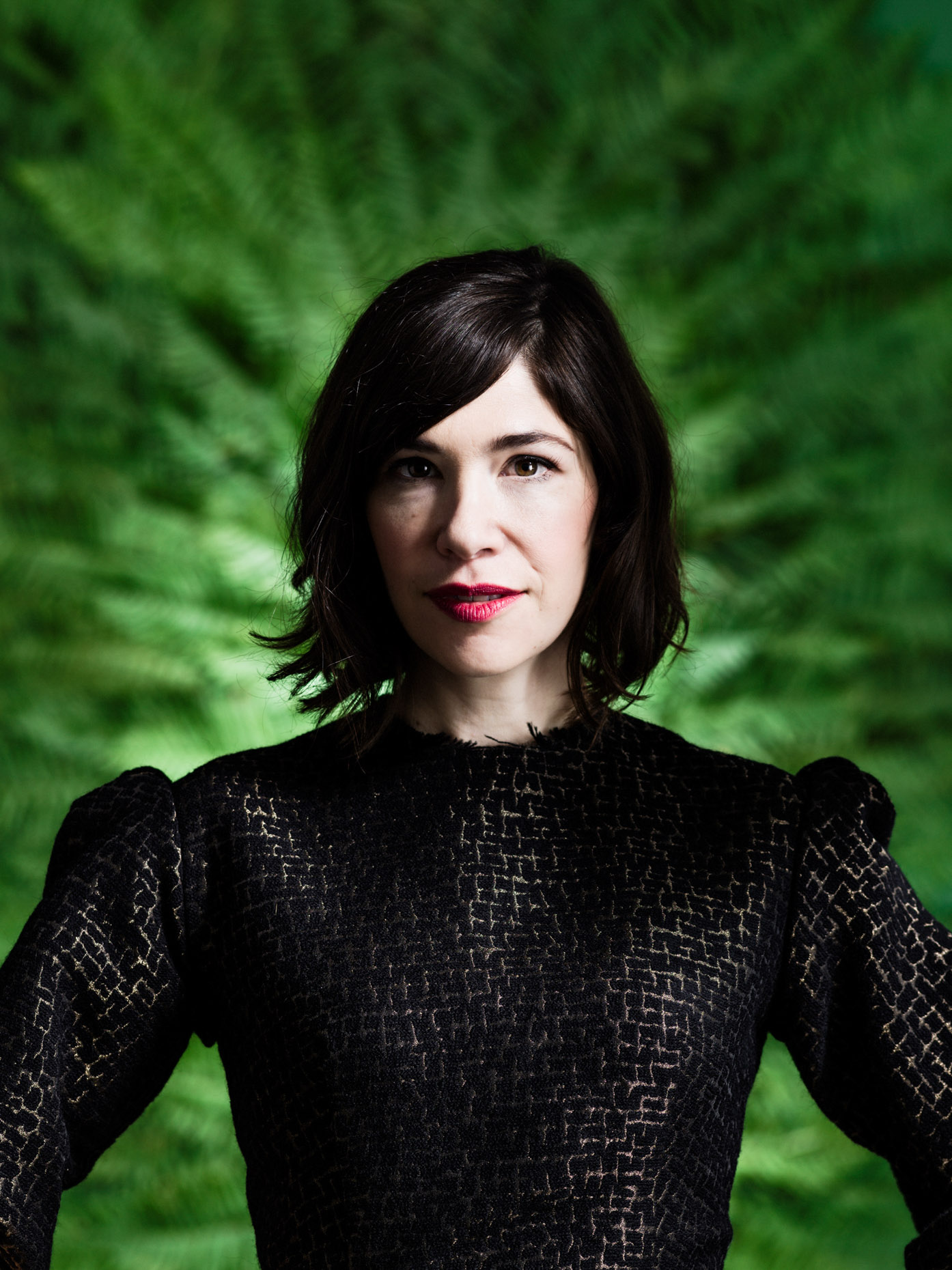 Portrait of Carrie Brownstein for Portland Monthly Magazine