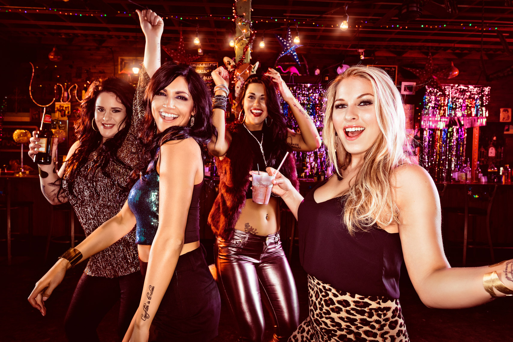 The ladies of Party Down South for CMT reality tv