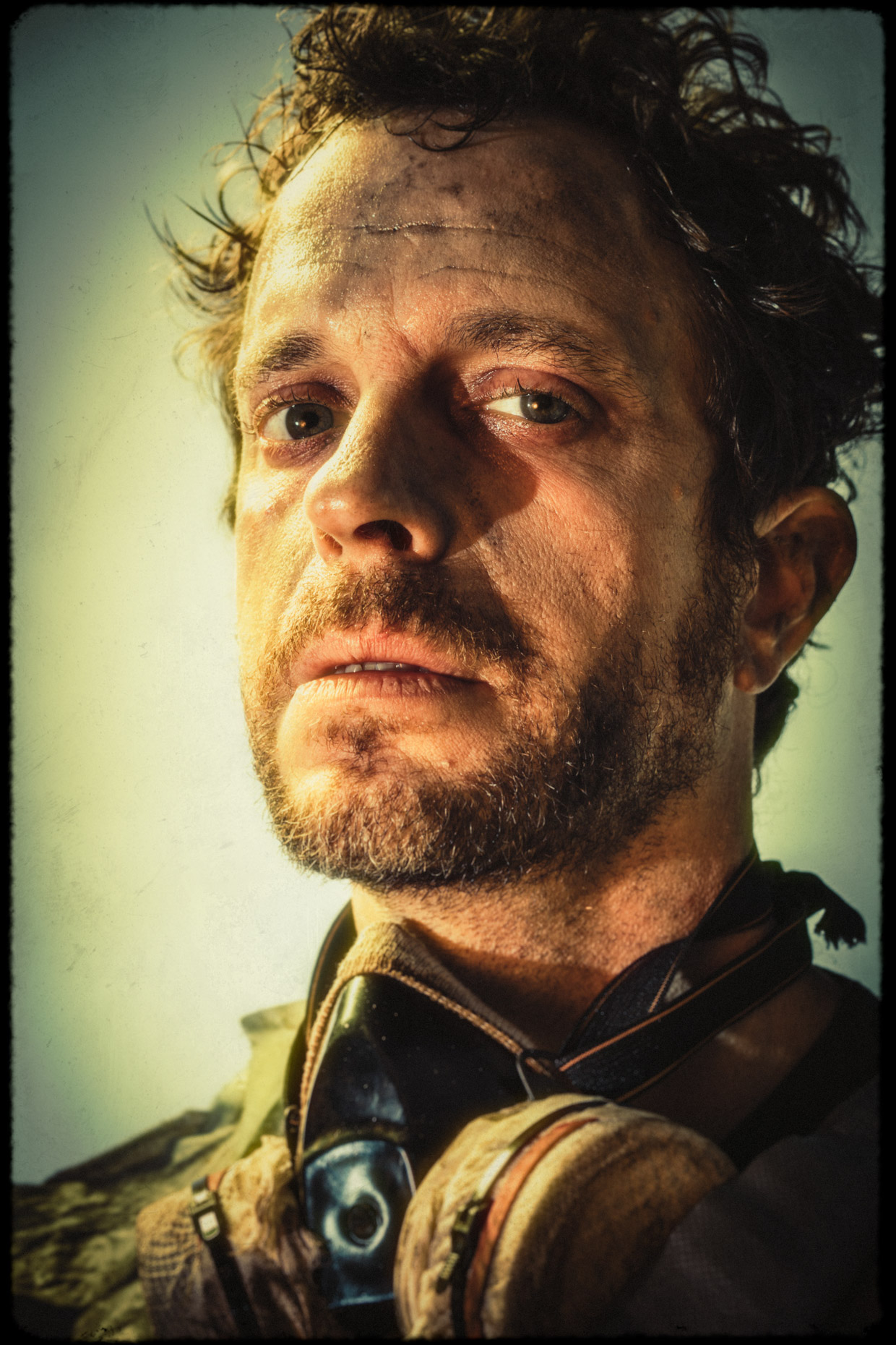 character portrait of actor Jed Arkley as Zeb in the cinematic series Bad Choices