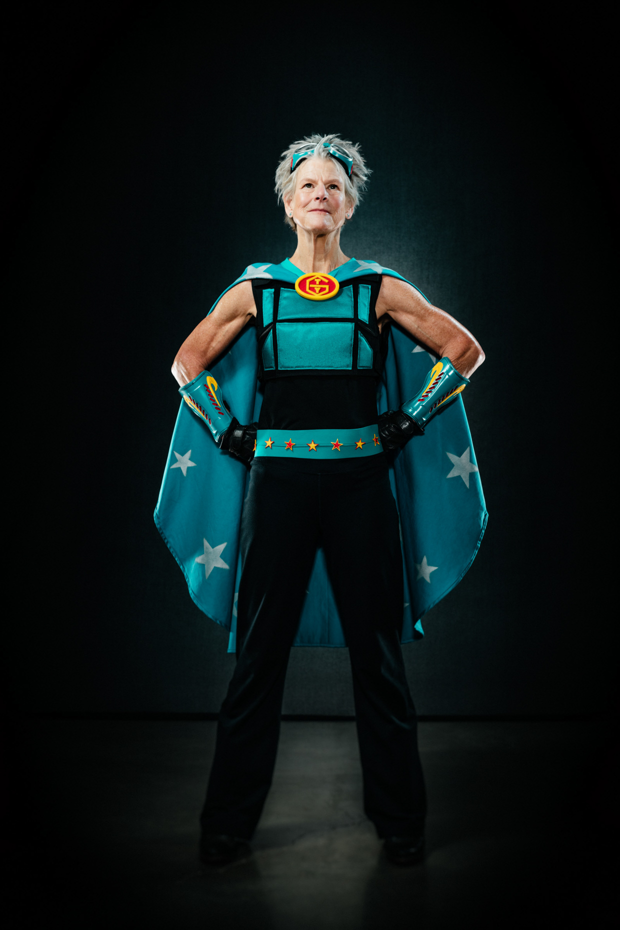 Peg Gauthier for Ovarian Cancer Awareness campaign