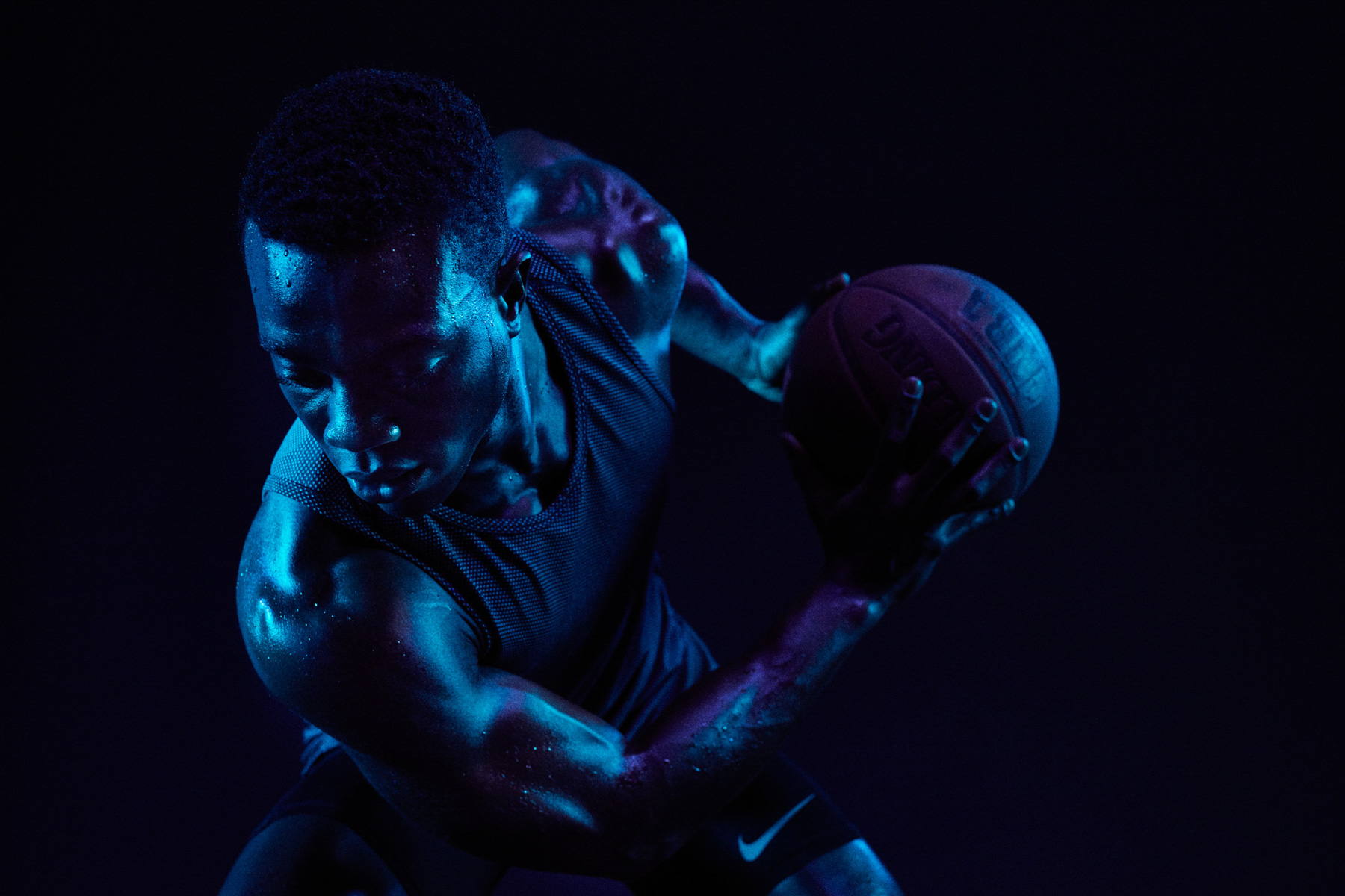 Basketball athlete David Kojo Aidoo