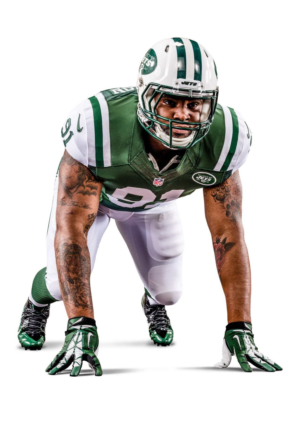 Sheldon Richardson is an American football defensive end for the New York Jets of the National Football League.