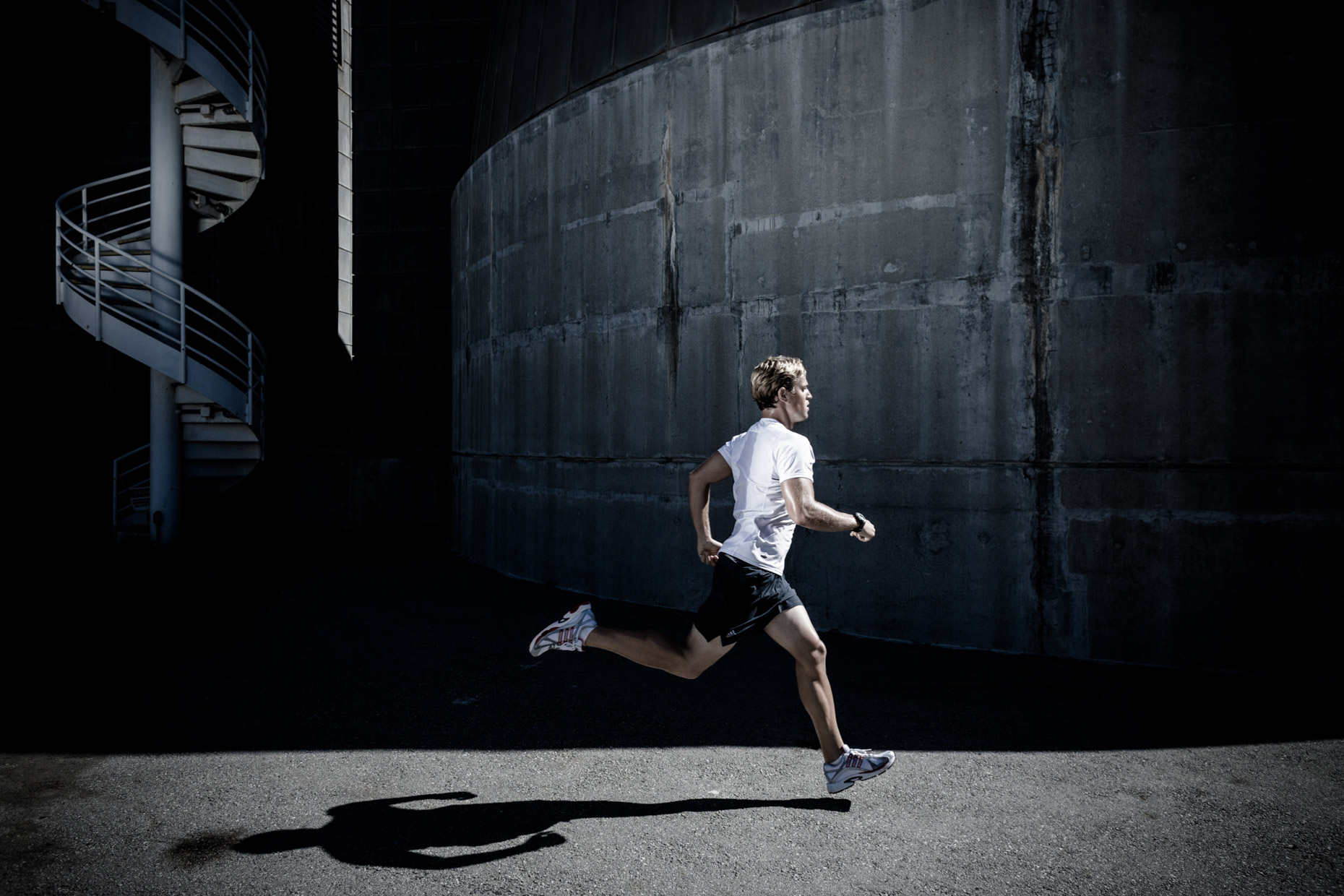 Running campaign for adidas