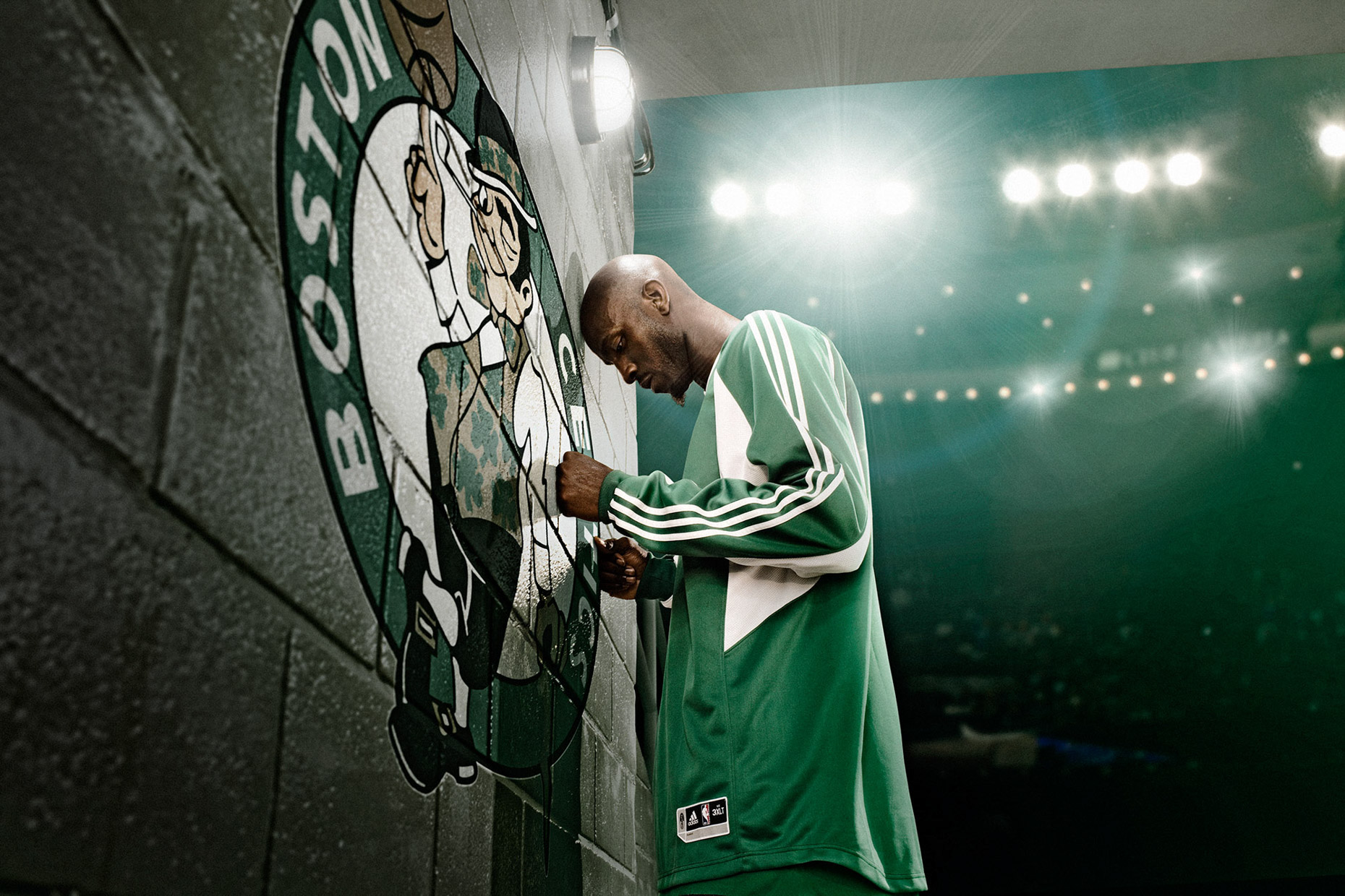 NBA basketball legend Kevin Garnett for adidas